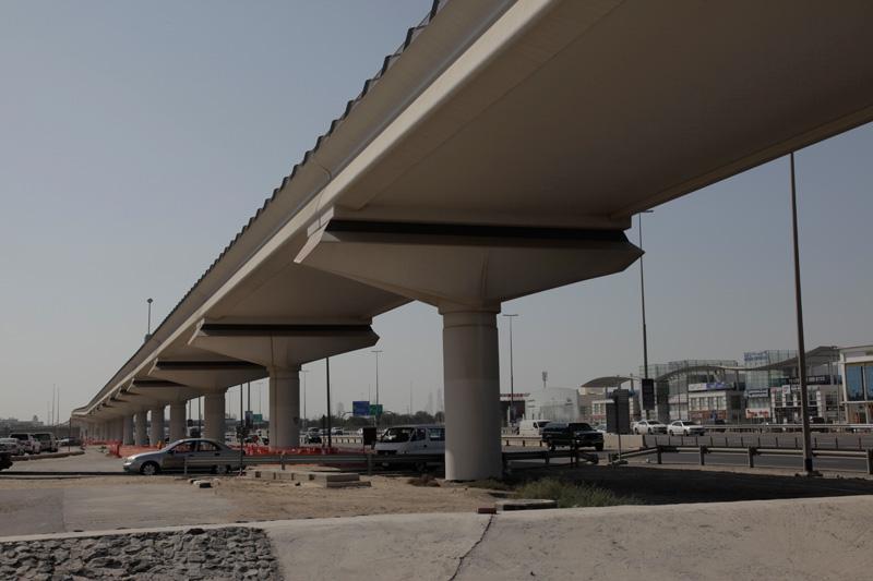 DNEC – Balanced Cantilever Construction method, Dubai, UAE