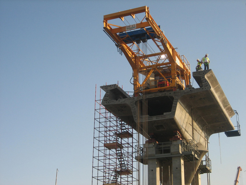 Dnec Balanced Cantilever Construction Method Dubai Uae